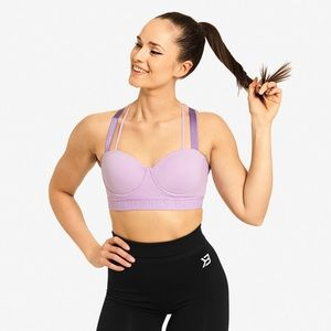 Better Bodies Waverly Sports Bra, Lilac